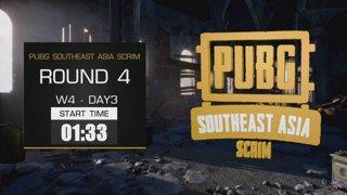 PUBG Southeast Asia Scrim - Week 4 !pts !teams !winner !คิดคะแนน !กิจกรรมSEA