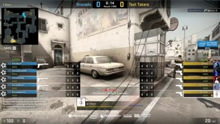 Test Takers vs Bravado - IEM Katowice NA Minor QA - map2 - de_dust2 [SSW & Gromjkee]