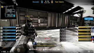 Test Takers vs Bravado - IEM Katowice NA Minor QA - map3 - de_train [SSW & Gromjkee]