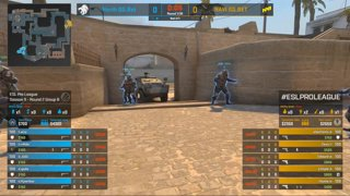 CS:GO - North vs. Natus Vincere [Mirage] Map 2 - Group B - ESL Pro League Season 9 Europe