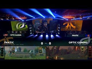 видео: OpTic Gaming vs Fnatic, game 1