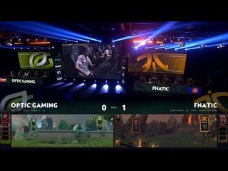 видео: OpTic Gaming vs Fnatic, game 2