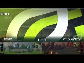 видео: OpTic Gaming vs Fnatic, game 3