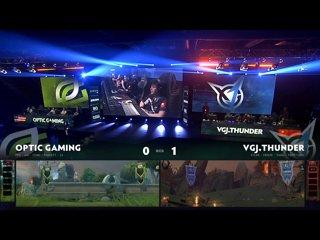 видео: OpTic Gaming vs VGJ.Thunder, game 2