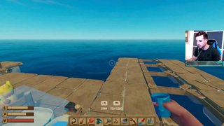 Highlight: BIG ISLAND DREAMS!? - RAFT with The Crew!