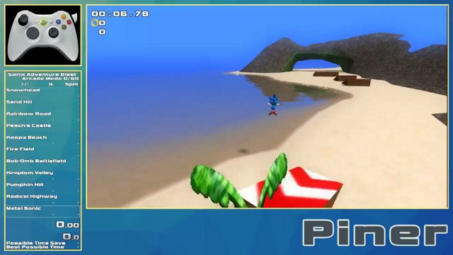 Sonic Adventure Blast Koopa Beach M1 In 12 60