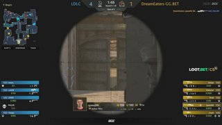 (EN) LDLC vs DreamEaters GG.BET | map 1 | Loot.bet/CS Season 3 | by @oversiard & @VortexKieran