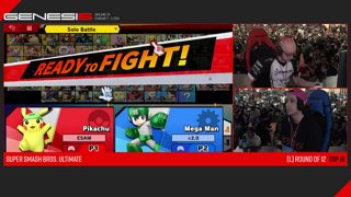 Genesis 6 SSBU - PG | ESAM (Pikachu) VS DB | Yeti (Mega Man) Smash Ultimate Loser's Top 12