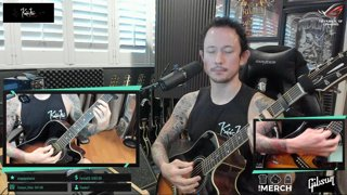 Matt Heafy (Trivium) - Anathema - Untouchable #1 I Acoustic Cover