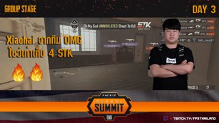 Highlight Xiaohai 4k : FACEIT PUBG Global Summit Group Stage Day : 3