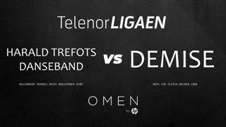 Telenorligaen Høst 2018: CS:GO Runde 5 | Harald Trefots Danseband vs Demise!