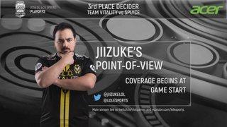 Rekkles' Point-of-View | Semifinals Day 2 | EU LCS Spring Split | Fnatic vs. Team Vitality (2018)