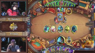 2018 Hearthstone Taiwan All-Star Invitational - Finals Day || Semifinal match 1 - tom60229 v.s. Thijs
