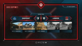 OMEN UK OPEN - Day 2 - Grand Finals // Endpoint vs London