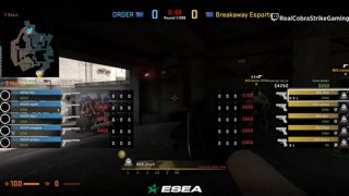 VoD 📽️ ORDER vs Breakaway - BO3 - Semi-final [ESEA MDL Season 30 Australia]