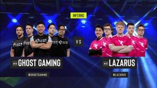 CS:GO - Ghost vs. Lazarus [Inferno] Map 1 - Group B - ESL Pro League Season 9 Americas