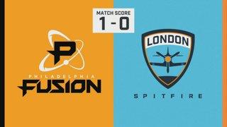 Finale Jour 1 | Philadelphia Fusion vs. London Spitfire