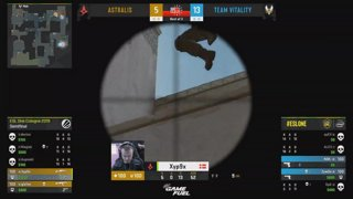 RERUN: CS:GO - Astralis vs. Vitality [Dust2] Map 1 - Semi-Final - ESL One Cologne 2019