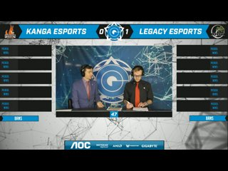 AOC CGPL Winter GRAND FINAL - Legacy Esports VS Kanga Esports Game 2