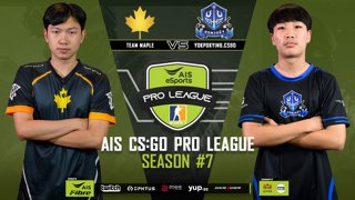 AIS CS:GO Pro League Season#7 R.3 Maple vs. Yokpuakying MAP1 OVERPASS