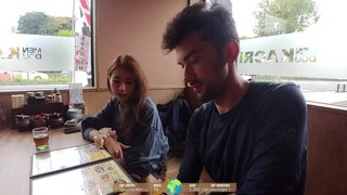 Highlight: Hitchhiking Japan with Minami (Day 11) - Location: Beppu !minami