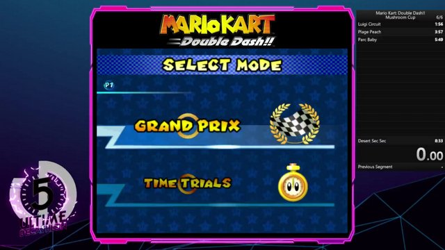 Mario Kart: Double Dash!! Mushroom Cup speedrun in 8:20 RTA