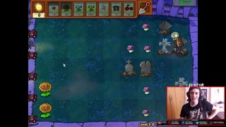 NOCHE SUPERADA - Plants vs. Zombies (Capitulo 2)