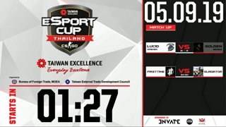 TAIWAN Excellence e-Sport Cup Thailand : รอบ 16 ทีมสุดท้าย BO1 -  Lucid Dream vs. Golden Wing | FirstTime vs. Gladiator