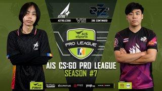 AIS CS:GO Pro League Season#7 R.3 Astro vs. 2Be.Continue MAP1 DUST2