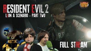Resident Evil 2 (2019) - Leon A | Original Full Stream [Part 2]