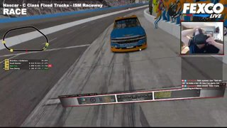 FexcoLive - Rac: iRacing in VR - NASCAR - Rookie Dirt - ISM Raceway