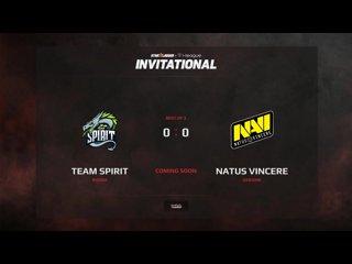 видео: Team Spirit vs NaVi, 1