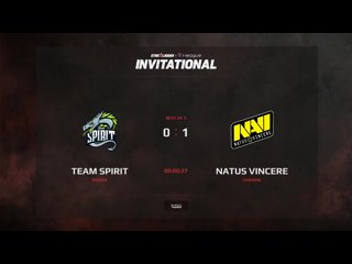 видео: Team Spirit vs NaVi, 2