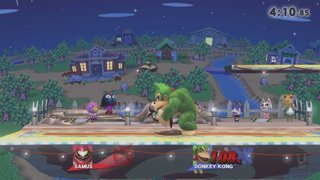 Can Wii Fit Trainer Hit Olimar With Her F-Smash?