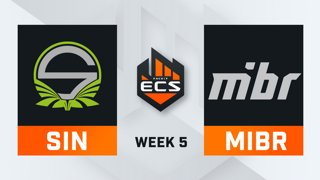 Singularity vs MiBR - Map 1 - Mirage (ECS Season 7 - Week 5 - DAY1)