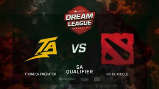Thunder Predator vs rei do picolé, DreamLeague Season 11, SA QL, bo3, game 3 [Lum1Sit]