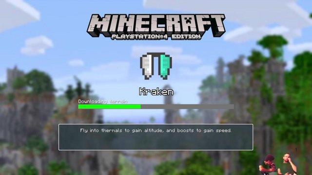 Dadandsonsgames Kraken Track PS Minecraft Minigames Twitch - Minecraft ps4 minispiele
