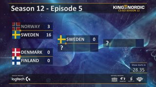 King of Nordic CS:GO - S12E05 Friday finals - Tournament reset.