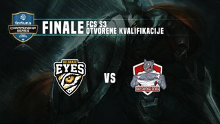 FCS S3 Finale otvorenih kvalifikacija - Belgrade Eyes vs Reformed Ones