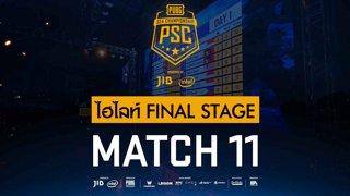 [PSC][TH] JIB PUBG SEA Championship Phase 3  Game 11 [FINAL]