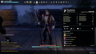 ESO One Tamriel Magicka Sorcerer Build PVP/PVE