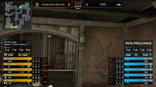 CS:GO - compLexity vs. MIBR [Dust2] Map 1 - Group A - ESL Pro League Season 9 Americas