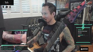 Matt Heafy [Trivium] | 9am warmups, 3pm set/ karaoke/ arpeggios from hell | !merch !prime