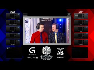 Team Valor vs Imperium