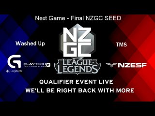 NZGC Qualifier - 3rd Seed (TMS vs Washed Up)