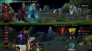 Natus Vincere vs Team Spirit Game 1 | Supermajor 2018 (Bo3)