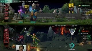 Natus Vincere vs Team Spirit Game 2 | Supermajor 2018 (Bo3)