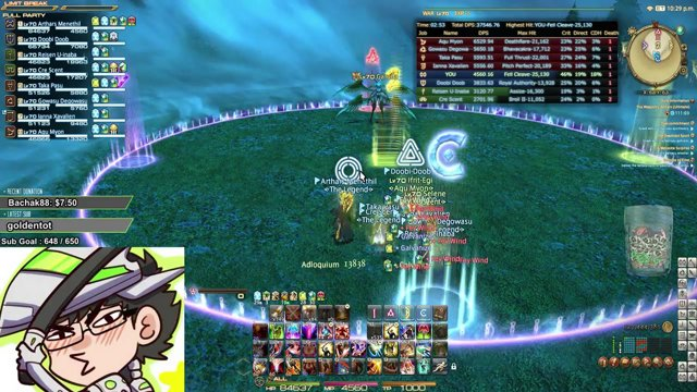 [FF14] Ultima Weapon Ultimate cleared! WAR PoV No LahabreaD tho