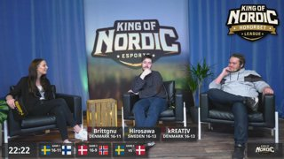 King of Nordic S14E03 CS:GO - Nordic finals