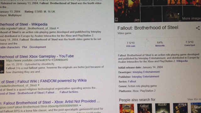 Video Games I love but Other People hate Fallout Brotherhood of Steel